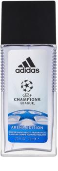 Adidas UEFA Champions League Arena Edition desodorizante vaporizador para homens