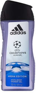 Adidas UEFA Champions League Arena Edition gel de duche para homens 250 ml
