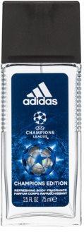 Adidas UEFA Champions League Champions Edition deodorante con diffusore per uomo