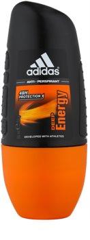 Adidas Deep Energy deodorant roll-on para homens 50 ml