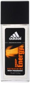 Adidas Deep Energy desodorizante vaporizador para homens 75 ml