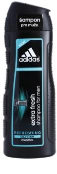 Adidas Extra Fresh champô refrescante para cabelo oleoso