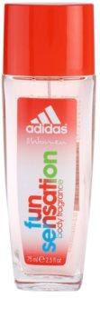 Adidas Fun Sensation deo mit zerstäuber für Damen