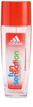 Adidas Fun Sensation deodorante con diffusore da donna