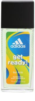 Adidas Get Ready! дезодорант з пульверизатором для чоловіків