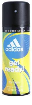 Adidas Get Ready! déo-spray pour homme 150 ml