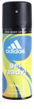 Adidas Get Ready! desodorante en spray para hombre 150 ml