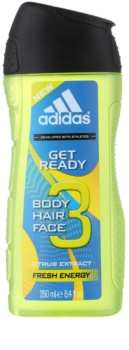 Adidas Get Ready! gel de dus 2 in 1 pentru bărbați