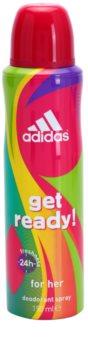 Adidas Get Ready! дезодорант-спрей для жінок