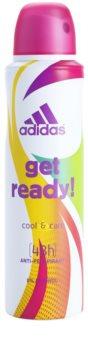 Adidas Get Ready! Cool & Care antitranspirante para mulheres
