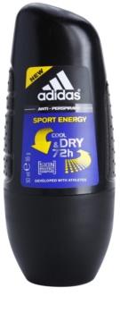 Adidas Sport Energy Cool & Dry deodorant roll-on para homens 50 ml