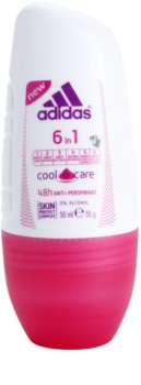 Adidas 6 in 1  Cool & Care deodorante roll-on