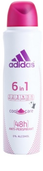 Adidas 6 in 1  Cool & Care deo sprej