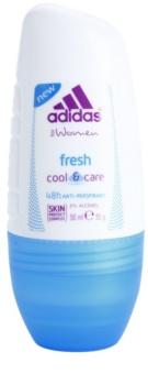 Adidas Fresh Cool & Care Roll-On Deodorant  för Kvinnor