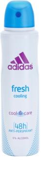 Adidas Fresh Cool & Care deodorant spray para mulheres