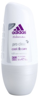 Adidas Pro Clear Cool & Care desodorante roll-on para mujer 50 ml