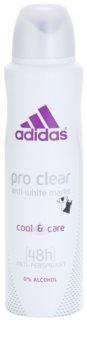 Adidas Pro Clear Cool & Care deodorant Spray para mulheres 150 ml