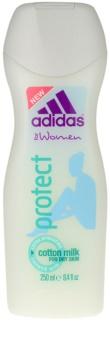 Adidas Protect crema de ducha para mujer