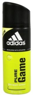 Adidas Pure Game deodorant spray para homens