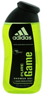 Adidas Pure Game gel de ducha para rostro, cuerpo y cabello 3 en 1