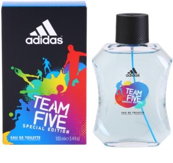Adidas Team Five Eau de Toilette Miehille