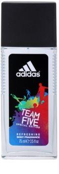 Adidas Team Five déodorant avec vaporisateur pour homme
