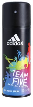 Adidas Team Five deodorant spray para homens