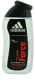 Adidas Team Force gel de duche para homens 250 ml