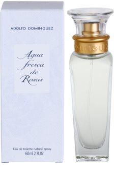 Adolfo Dominguez Agua Fresca de Rosas eau de toilette da donna