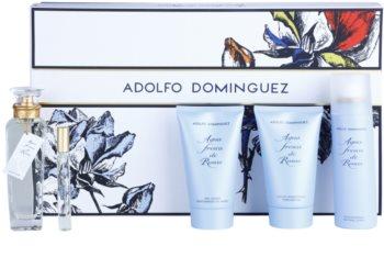 Adolfo Dominguez Agua Fresca de Rosas lote de regalo VI. para mujer
