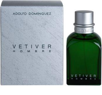 Adolfo Dominguez Vetiver Hombre eau de toilette för män