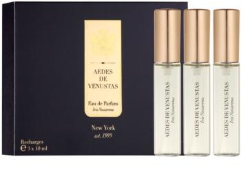 Aedes De Venustas Iris Nazarena eau de parfum recarga unissexo 3 x 10 ml