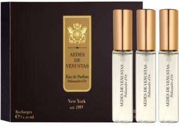 Aedes De Venustas Palissandre d'Or eau de parfum unisex 3 x 10 ml recarga