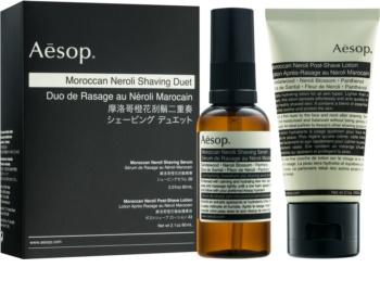 Aēsop Moroccan Neroli Shaving Duet zestaw kosmetyków I. dla mężczyzn
