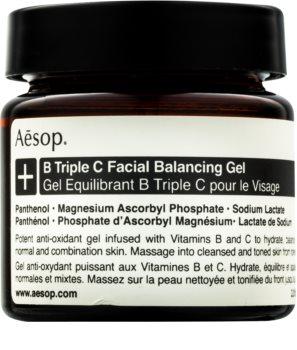 Aēsop B Triple C Facila Balancing Gel антиоксидантный крем для лица с витаминами