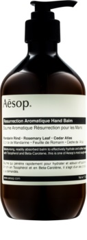 Aēsop Body Resurrection Aromatique baume hydratant en profondeur mains