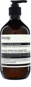 Aēsop Body Geranium Leaf tisztító tusoló gél