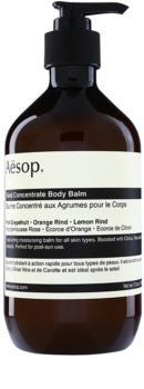 Aēsop Body Rind Concentrate hydratačný telový balzam pre všetky typy pokožky