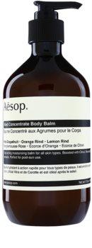 Aēsop Body Rind Concentrate зволожуючий бальзам для тіла для всіх типів шкіри
