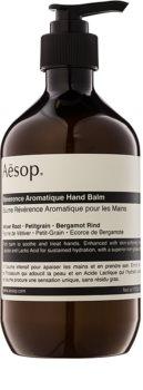 Aēsop Body Reverence Aromatique bálsamo hidratante para mãos