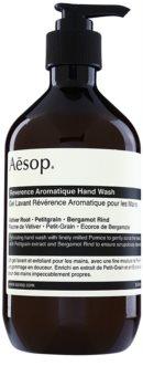 Aēsop Body Reverence Aromatique mydło w płynie złuszczające do rąk
