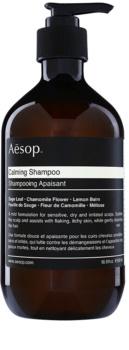 Aēsop Hair Calming champô apaziguador  para couro cabeludo seco com prurido