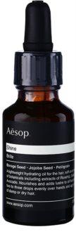 Aēsop Hair Shine vlažilno olje z suhe lase