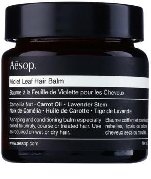 Aēsop Hair Violet Leaf baume définition pour cheveux indisciplinés et frisottis