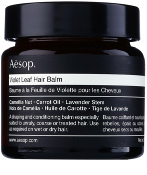 Aēsop Hair Violet Leaf αναδιαμορφωτικό βάλσαμο για ατίθασα και κρεπαρισμένα μαλλιά