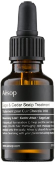 Aēsop Hair Sage & Cedar vlažilna kura za lase pred umivanjem