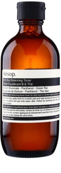 Aēsop Skin B & Tea нежно почистващ тоник за всички видове кожа, включително и чувствителна