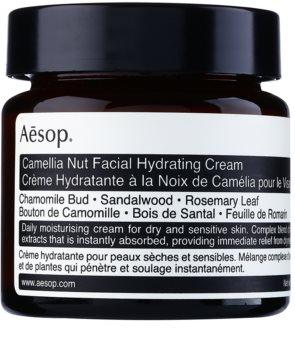 Aēsop Skin Camellia Nut nährende und feuchtigkeitsspendende Creme für trockene bis empfindliche Haut
