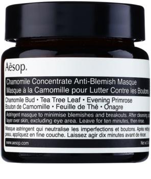 Aēsop Skin Chamomile mascarilla limpiadora para pieles problemáticas