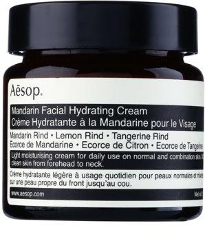 Aēsop Skin Mandarin Crema hidratanta pentru zi pentru piele normală și mixtă